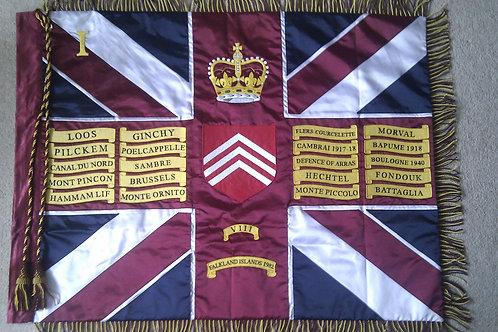1st Battalion Welsh Guards Regimental Colours