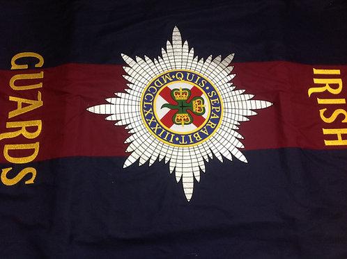 Irish Guards Coffin Drape