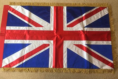 Silk Union Flag 46 x 25