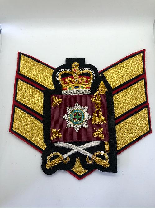 Irish Guards Colour Sergeant Rank Insignia
