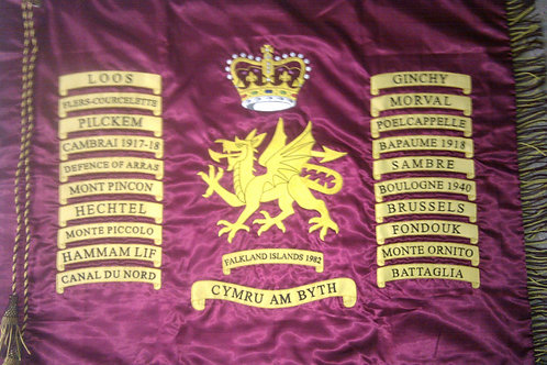 1st Battalion Welsh Guards Queens Colours