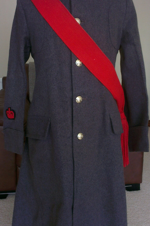 Guards Warrant Officers Greatcoat & Sash