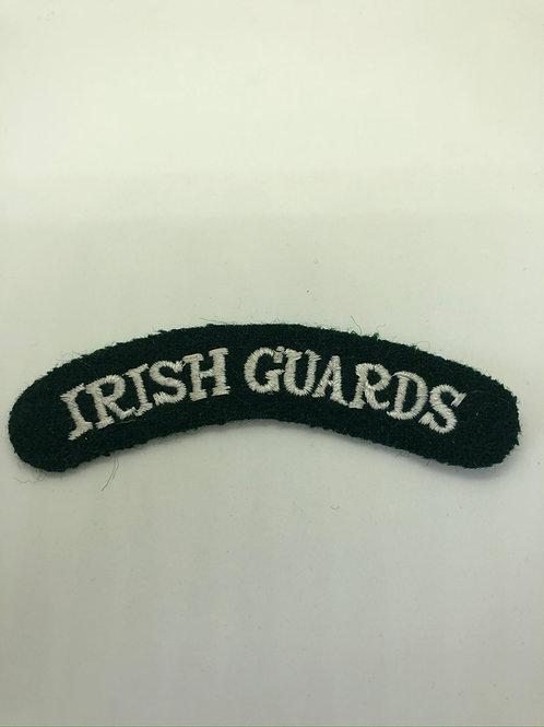 Irish Guards Shoulder Title