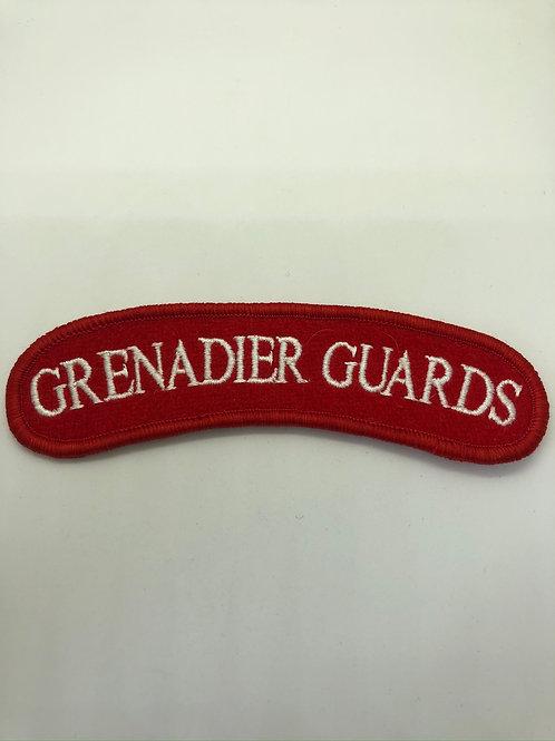 Grenadier Guards Shoulder Title