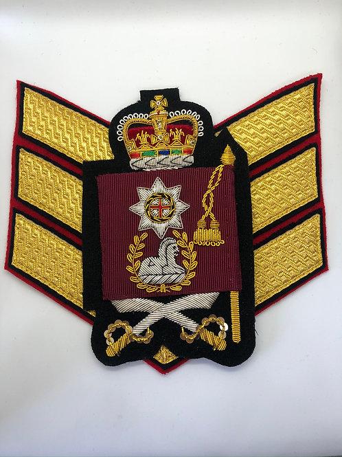 Coldstream Guards Colour Sergeant Rank Insignia