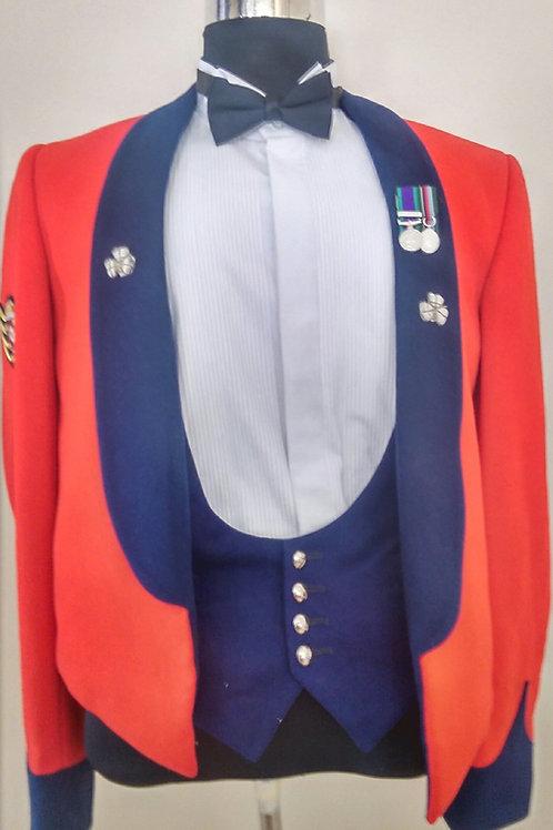 Irish Guards Colour Sergeant`s Mess Dress