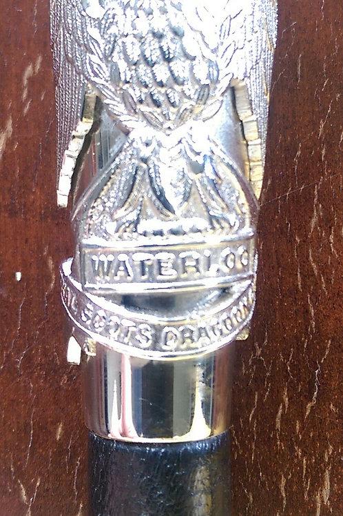Royal Scots Dragoon Guards RSDG Swagger Stick
