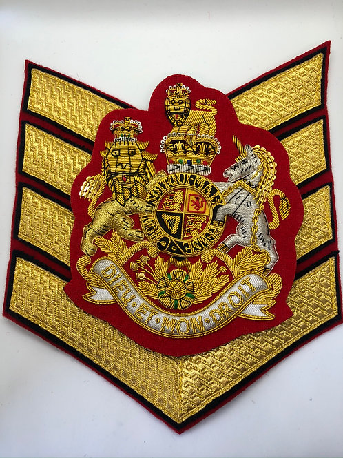 Garrison Sargent Major London District Insignia