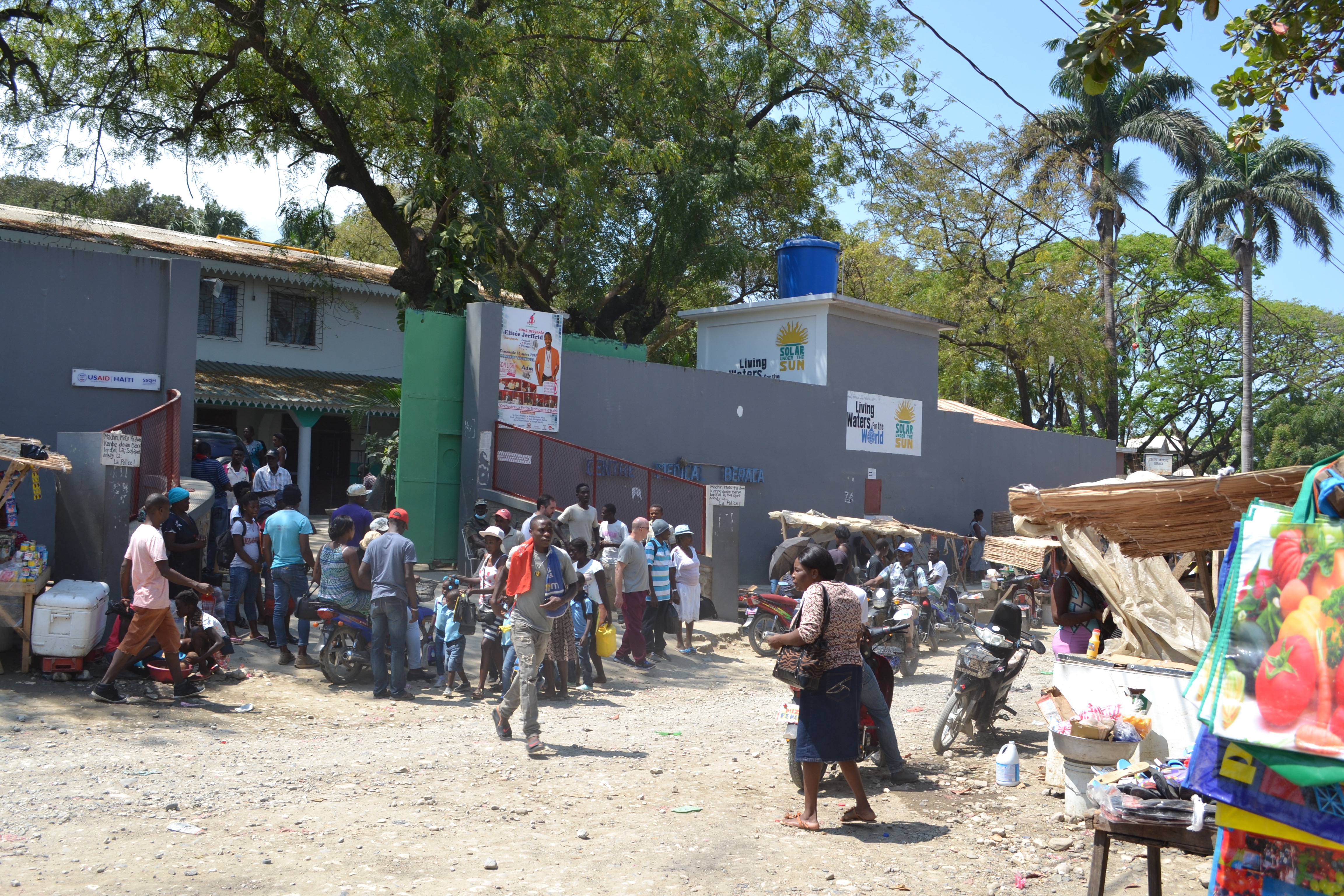 CMB Haiti in La Pointe, Haiti