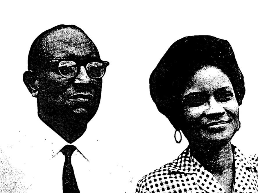 CMB's Dr. & Mrs. Orius Paultre