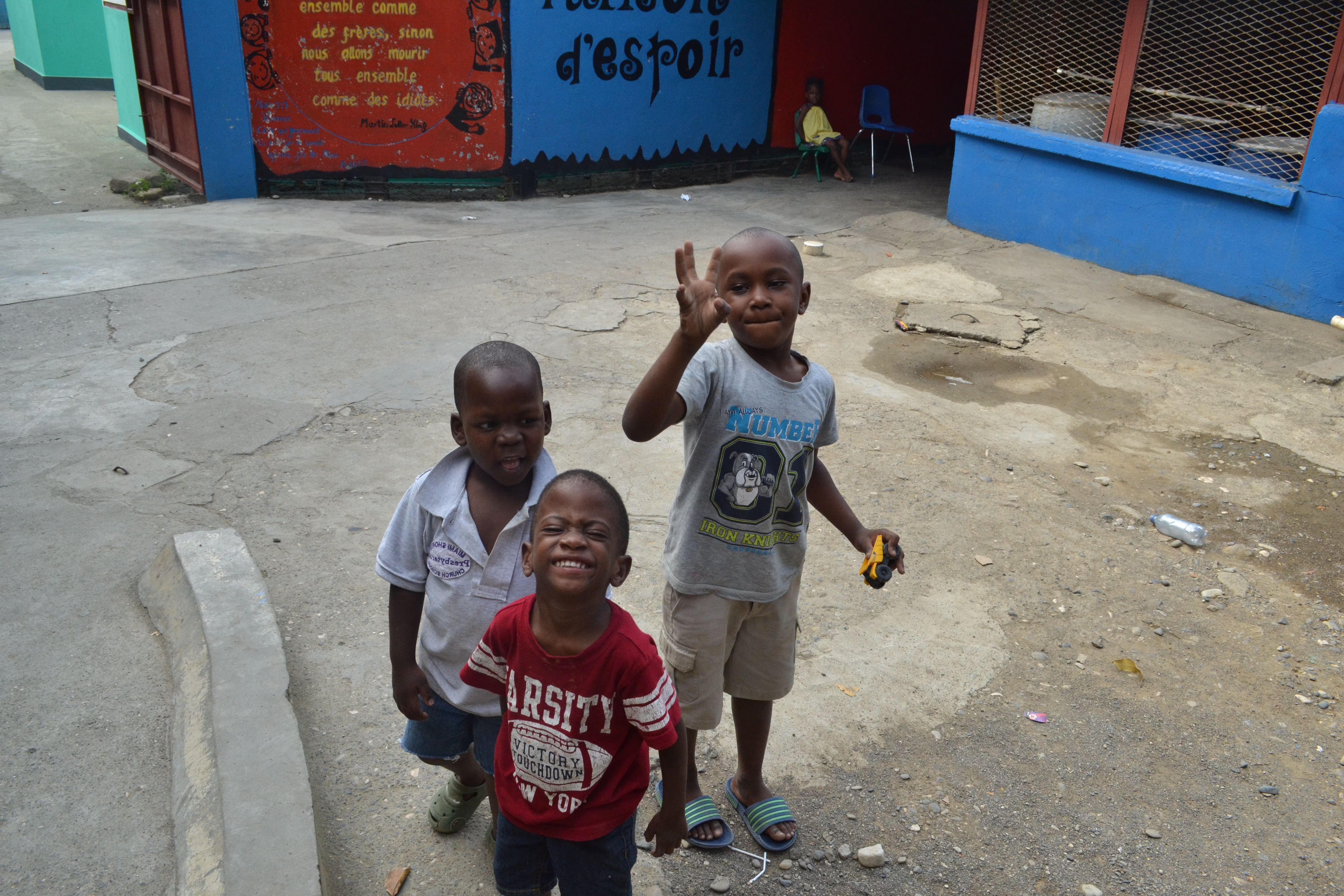 Children at the House of Hope