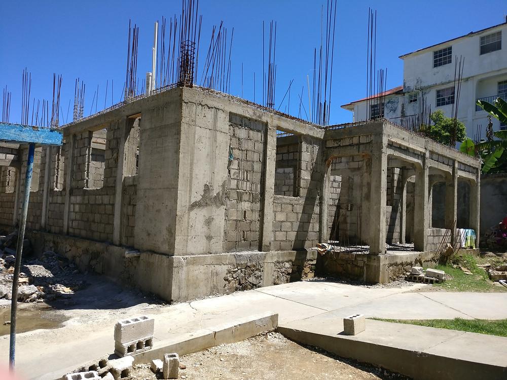 CMB Haiti's maternity ward building progress