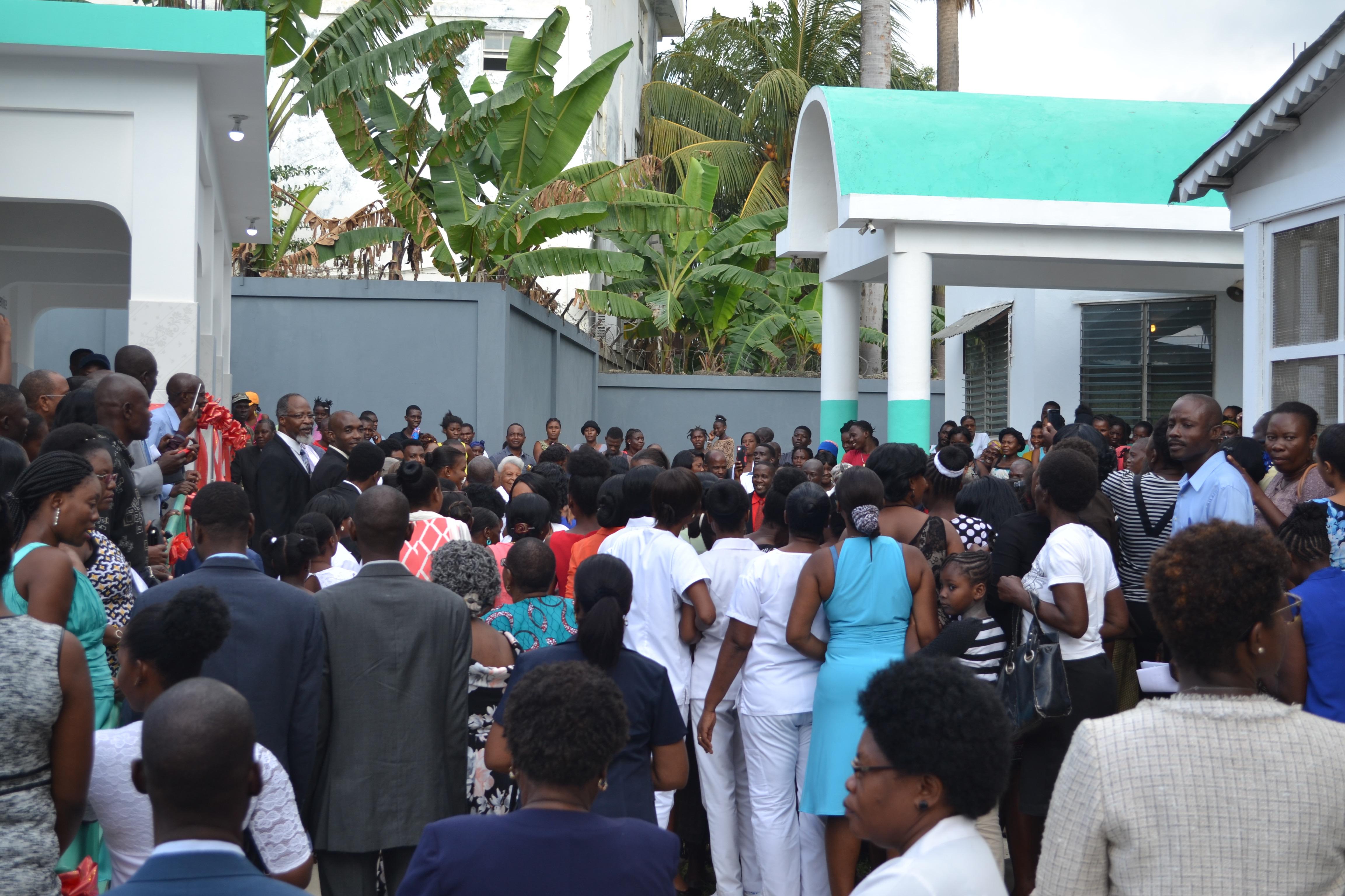 CMB Maternity ward opening
