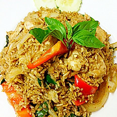 F3. Spicy Basil Fried Rice
