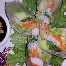 A8. Bangkok Shrimp Basil Roll (2)