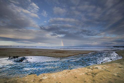 Rainbow over the Ocean,Skenes Creek