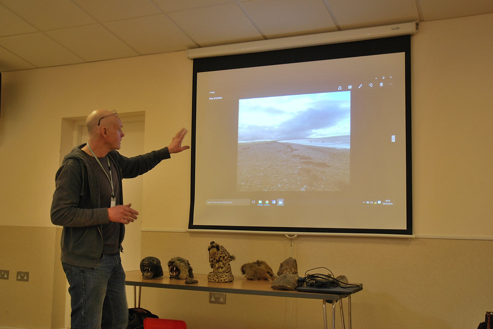 Peter Scott's presentation on how to make effective habitats