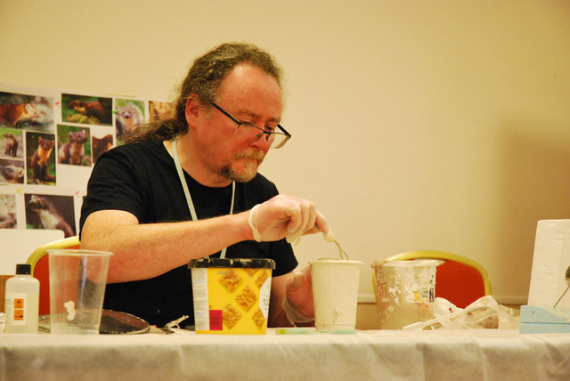 Steve Toher's Demonstration on Casting Heads with Alginate