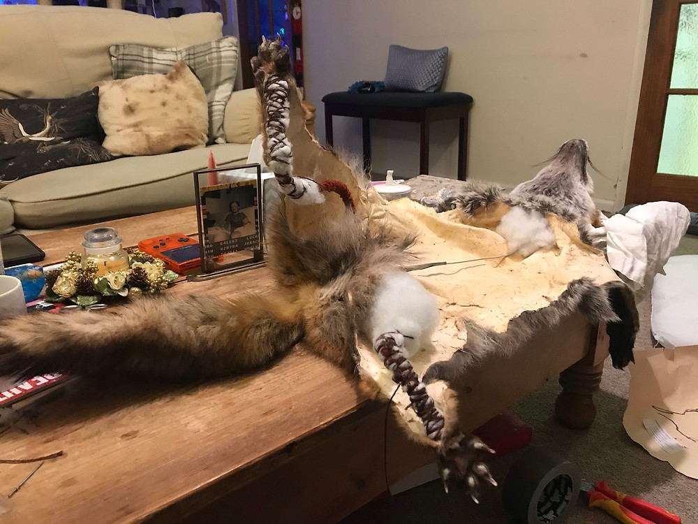 fox soft mounting in progress