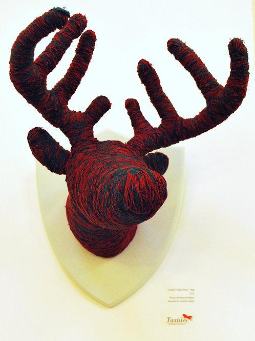 Textile Deer Head