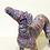 Thumbnail: Purple Faux Taxidermy Greyhound