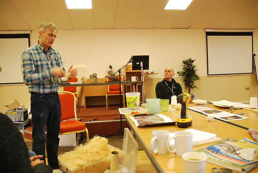 Mike Gadd & George Jamieson doing a bind up demo