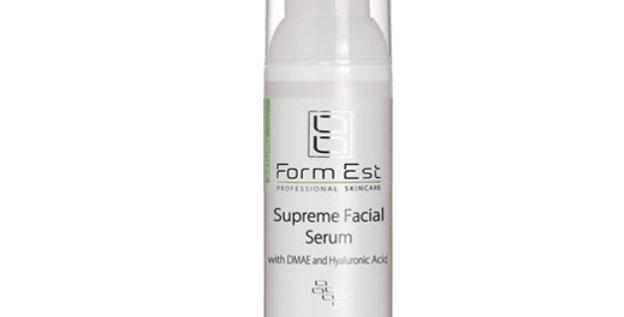 Supreme Facial Serum with DMAE and Hyaluronic acid / Мультивитаминная сыворотка