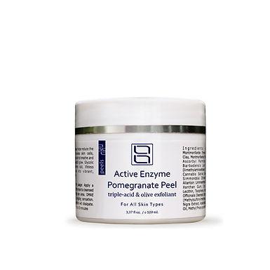 Active Enzyme Pomegranate Peel with olive exfoliant | Комбинированный пилинг