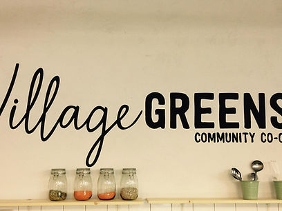 Village Greens Sign