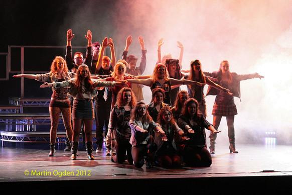 PADOS Youth Perform Broadway Rocks