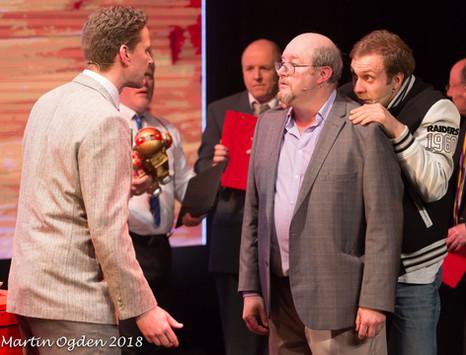 Executives at Work | Pados Theatre | Big The Musical