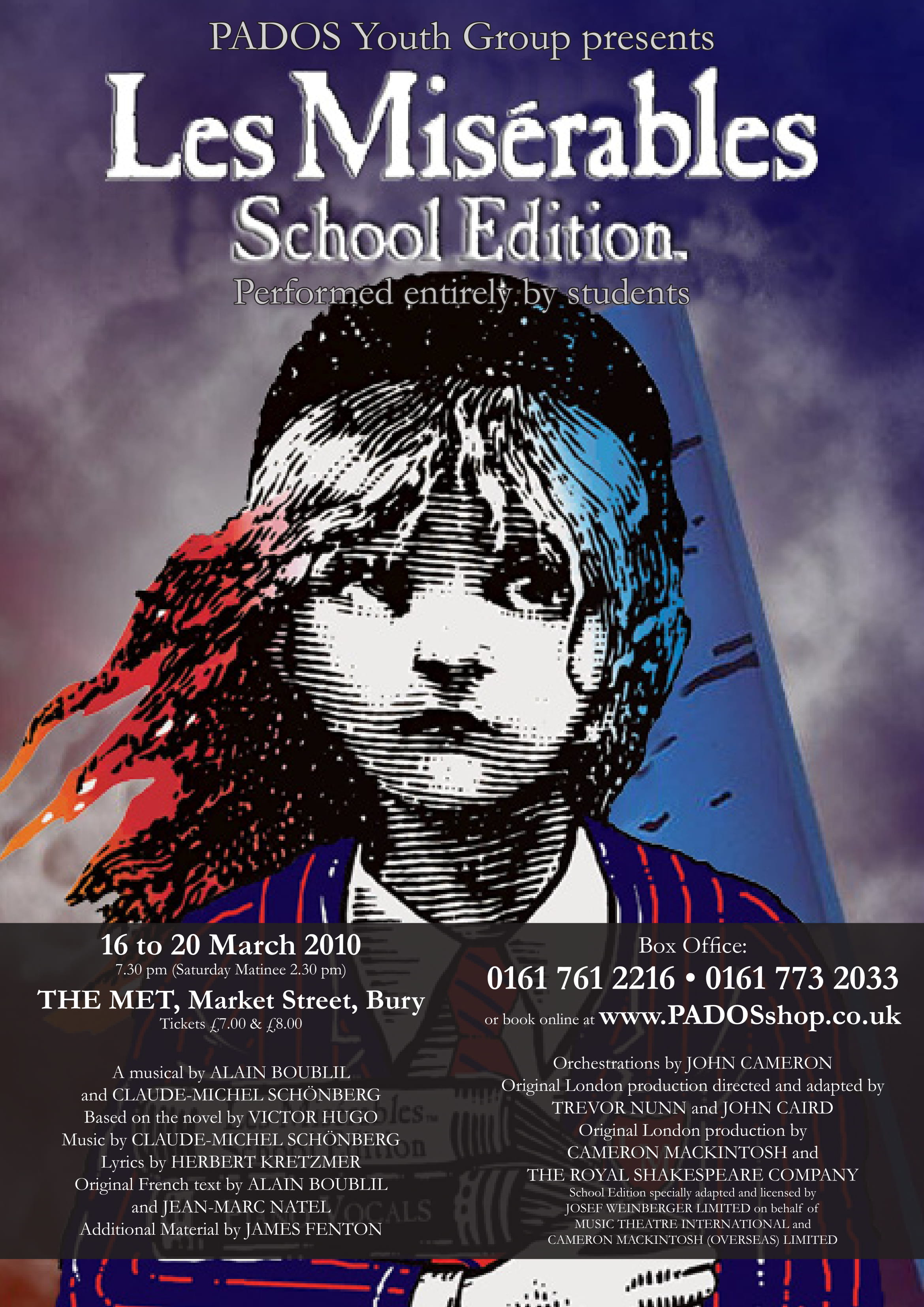 PADOS Youth | Les Miserables