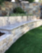 Loving natural stone feature cladding at