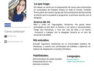 Equipo: Andrea Zamora, Asistente Virtual