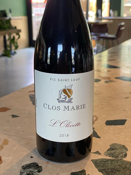 Clos Marie Pic Saint Loup - Fr 2019