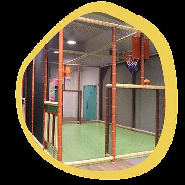 Terrain multi-sports -L'ÎLOT KIDS -Aire de jeux couverte - Ambérieu 01