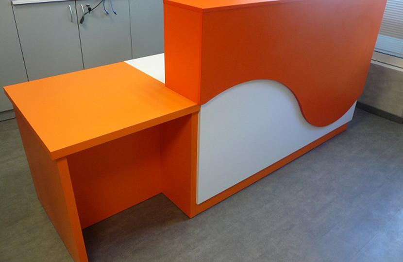 Mobilier Bois Design_Banque d'accueil Entreprise_4