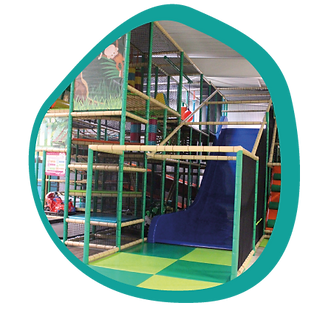 Jungle Parc - L'ÎLOT KIDS -Aire de jeux couverte - Ambérieu 01