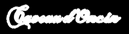 Logo Caveau d'Oncin blanc