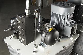 groupe hydraulique assemblé | COMATEL