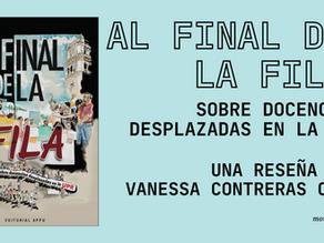 """Reseña de """"Al final de la fila: Escritos sobre docencias desplazadas en la UPR"""""""