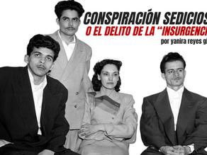 """Conspiración sediciosa o el delito de la """"insurgencia"""""""