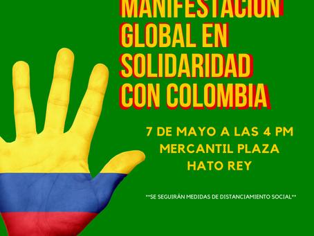 Declaración de organizaciones en Puerto Rico en solidaridad con el pueblo colombiano