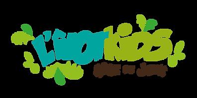 LOGO L'ÎLOT KIDS -Aire de jeux couverte - Ambérieu 01