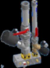 Etude de système hydraulique avec bloc foré | COMATEL