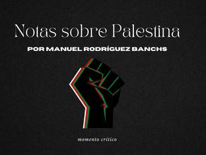 Notas sobre Palestina