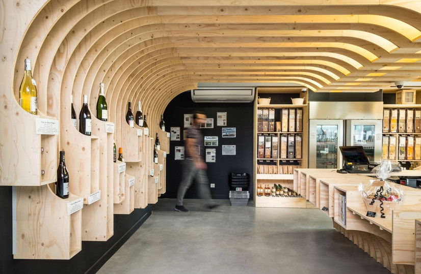 Mobilier Bois Design_Mobilier magasin