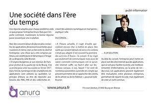 Article Anura - Eco de l'Ain