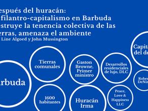 Después del huracán: el filantro-capitalismo en Barbuda
