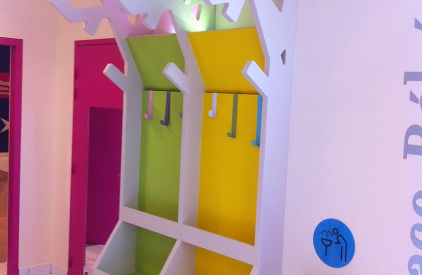 Mobilier Bois Design_Agencement crèche